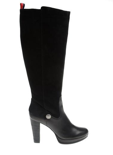 Tommy Hilfiger Çizme Siyah
